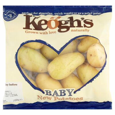 KEOGH'S BABY NEW POTATOES 750G