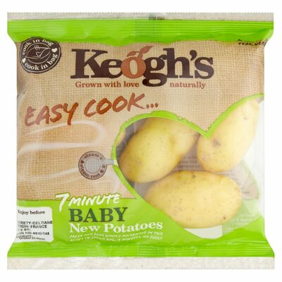 KEOGHS EASY COOK BABY NEW POTATOES 400G