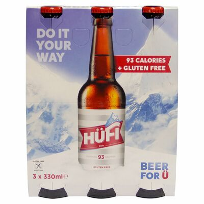 Hufi 8X3 Pack Bottle 330ml