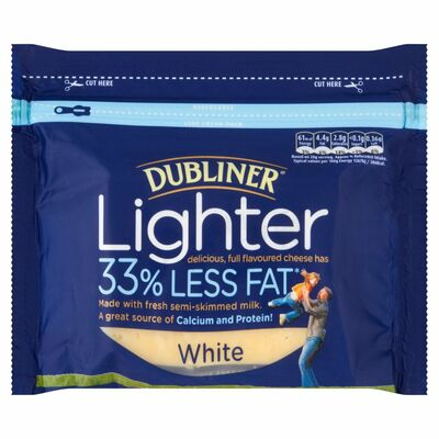 Dubliner Lighter Cheese White 200g