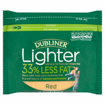 Dubliner Lighter Red Cheese Block 200g