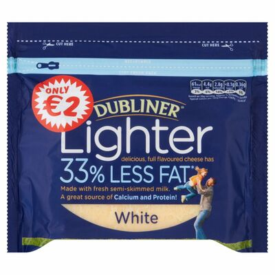 Dubliner Lighter White 200g