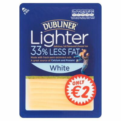 Dubliner Lighter White Slices 180g