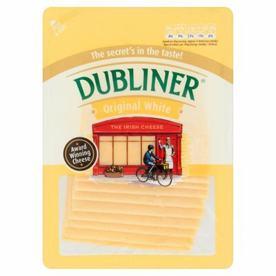 Dubliner Original White Slices 180g