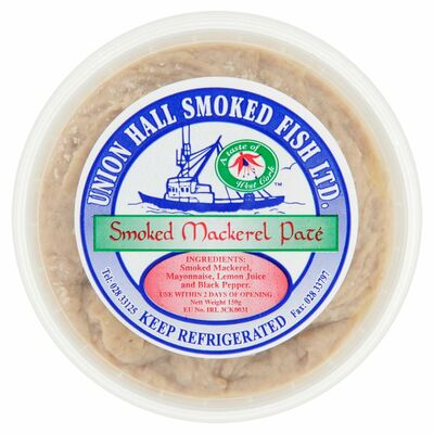 UNION HALL SMOKED MACKEREL PATE 150G