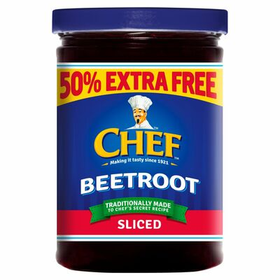 Chef Beetroot Sliced & 50% Extra Free 350g