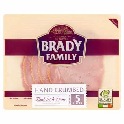 Brady Family Crumbed Ham Slices 90g
