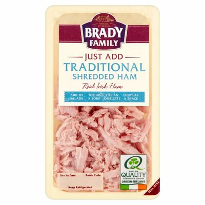 Brady Family Just Add Traditional Shredded Ham 110g