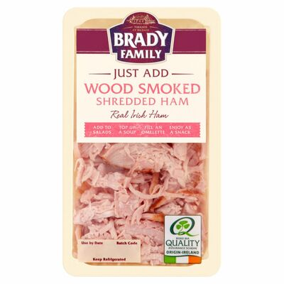 Brady Family Just Add Smoked Shredded Ham 100g