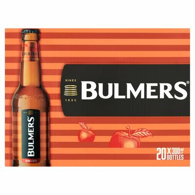 BULMERS BOTTLE PACK 20X300ML