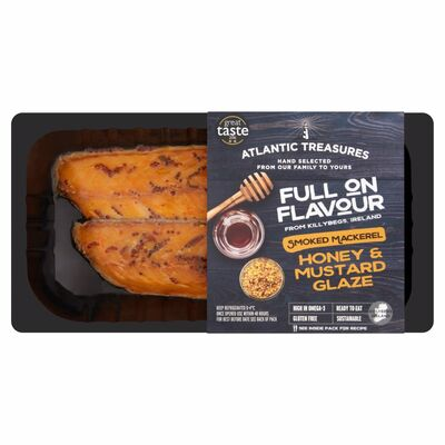 Atlantic Treasures Honey & Mustard Mackerel 170g