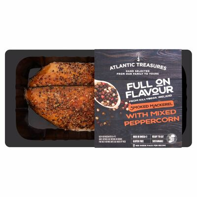 Atlantic Treasures Mixed Pepper Smoked 170g