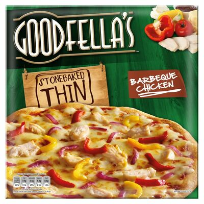Goodfella's Stone Baked Thin Bbq Chicken Pizza 385g