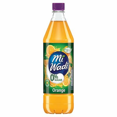 MiWadi Orange Zero Sugar 1ltr
