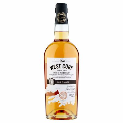 WEST CORK WHISKEY BLACK CASK 70CL