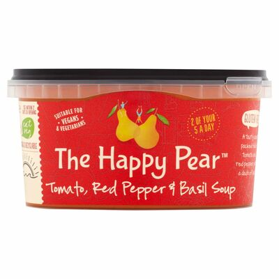 The Happy Pear Tomato Red Pepper & Basil Soup 375g
