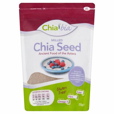 Chia Bia Milled Seeds 315g