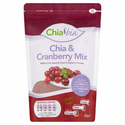 Chia Bia Cranberry Mix 260g