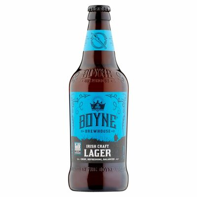 Boyne Brewhouse Lager 500ml