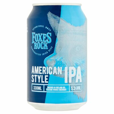 Foxes Rock Ipa Can 330ml