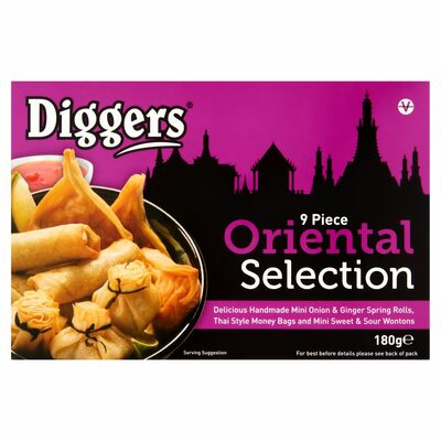 Diggers Oriental Selection 180g