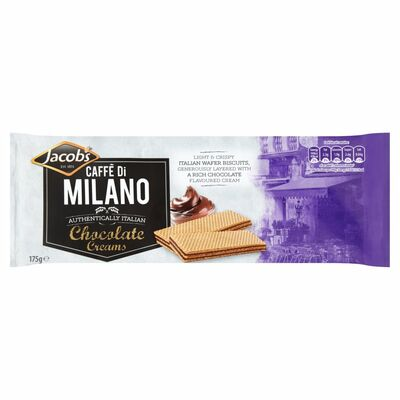 Jacob's Caffe Di Milano Chocolate 175g