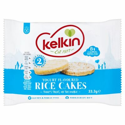 Kelkin Yoghurt Twin Pack Rice Cake 33.3g