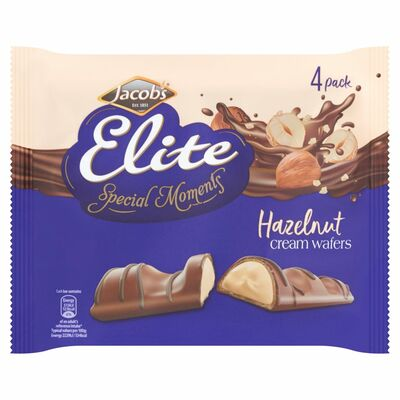 Jacob's Elite Special Moments Hazel Cream Wafer 92g