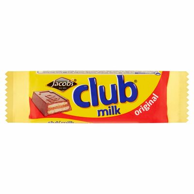 Jacob's Club Milk 24g