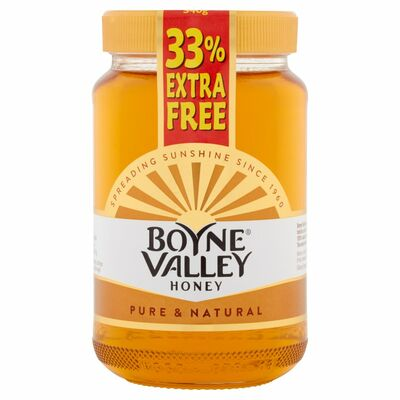 Boyne Valley Honey Jar + 33% Extra Free 454g