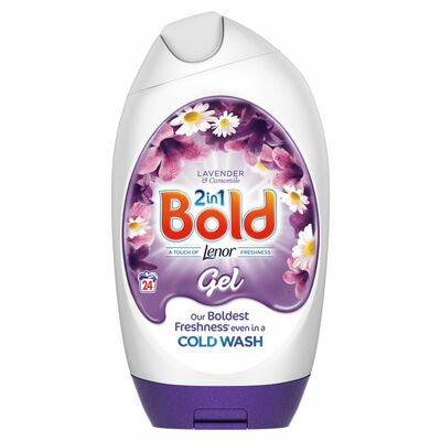 Bold Lavender & Camomile Gel 24 Wash 888ml