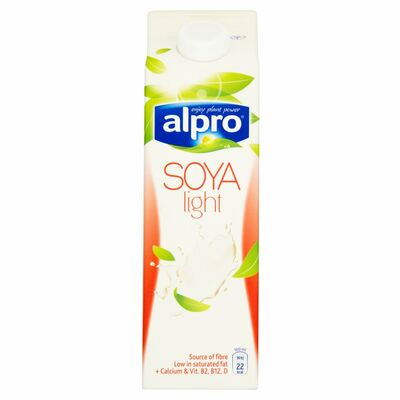 Alpro Soya Light Unsweetened 1ltr