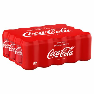 Coca Cola Can Pack 20 x 300ml