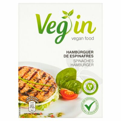 Veg In Hamburger Spinach 160g