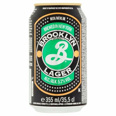 Brooklyn Lager Can 355ml