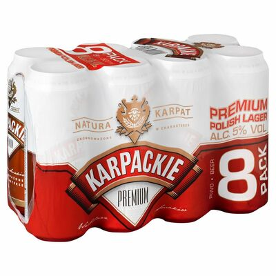 KarPackie 8 Pack Can 500ml