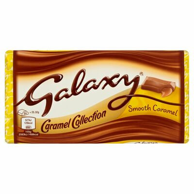 Galaxy Caramel Large Bar 135g