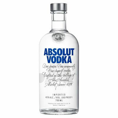 ABSOLUT BLUE VODKA 70CL