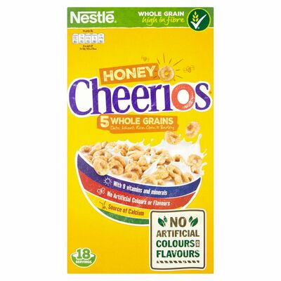 Nestlé Honey Cheerios Cereal 565g