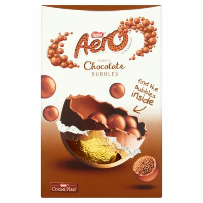 NESTLE AERO BUBBLES MEDIUM EGG 124G