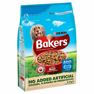 Bakers Beef And Vegetable Dry Food 2.7kg