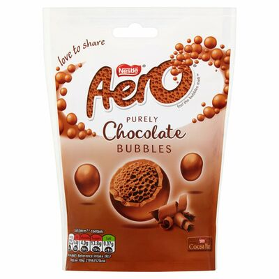 Nestle Aero Bubbles Milk Pouch 113g