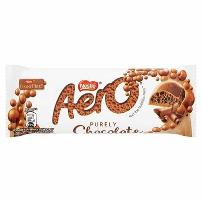 Nestlé Aero Bubbly Bar Milk 36g