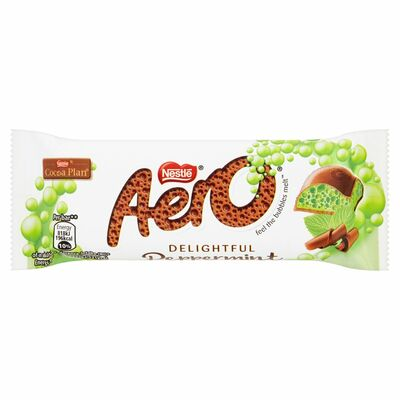 Nestlé Aero Bubbly Bar Peppermint 36g