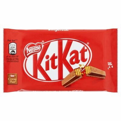 Nestlé Kit Kat 4 Finger Standard Milk 41.5g