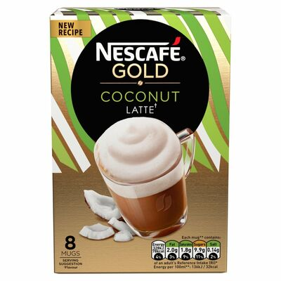 Nescafé Gold Latte Coconut 146g