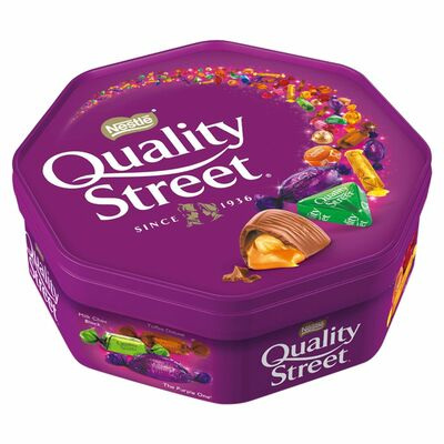 NESTLE QUALITY STREET TUB 650G