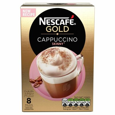 Nescafe Gold Cappucino Skinny Unsweetened 116g