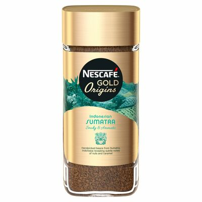 Nescafé Gold Origins Indonesian Sumatra 100g