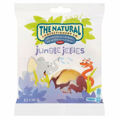 The Natural Confectionery Co Jungle Jellies 130g